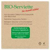 Unsere Servietten vereinen Hygiene und Ökologie. NACHHALTIGKEIT PUR.